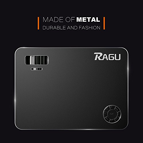 "RAGU Z720 Video projector HD Projectors Portable Movie Projector 1280x768 5.8"" LCD Home Theater with HDMI Support 1080P VGA USB SD AV TV Laptop for Entertainment Game Party by Ragu (Image #7)"