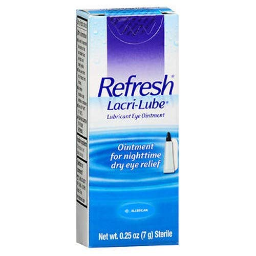 Refresh  Lacri-Lube Lubricant Eye Ointment 0.25 Ounces 7 Grams  (1) Tube)
