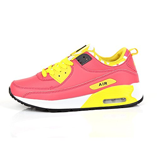 Running Zapatillas Pink Sintético Generic amp; Para De Yellow Mujer Material qUOwEd