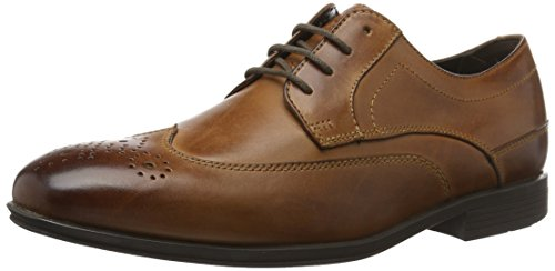 Rockport Herren Style Connected Wingtip Derbys Braun (Brown Le)