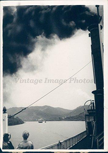 1939 Photo WW2 Era OH River Majestic Hills Passengers Steam Gordon Greene - Greene The Oh
