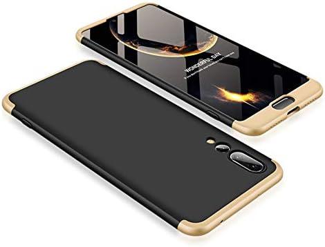 Funda Huawei P20 Pro,Carcasa Huawei P20 Pro,Funda 360 Grados Integral Para Ambas Caras+Cristal Templado,[360°] 3 in 1 Slim Fit Dactilares Protectora ...