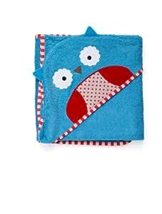 Skip Hop SKI-ZOO-TOWEL-OWL- Toalla infantil con capucha, diseño de búho