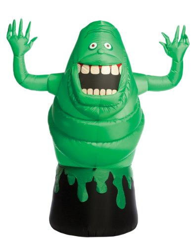 Morbid Enterprises Ghostbusters Inflatable Green Slimer, 6-Feet (Inflatable Slimer)