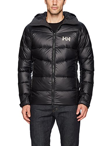 Hansen Icefall Vanir Helly Jacket Black Down 0qag6x7