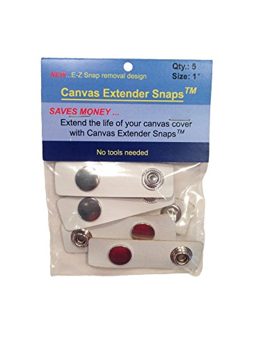 CYP Boat Canvas Snap Extender Boating Accessories 5 Per Bag 1