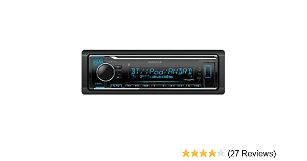 Amazon Com Kenwood Kmmbt322 Digital Media Receiver With Bluetooth Jvc Car Stereo Wire Colors Wiring Diagram: Jvc Car Stereo Wiring Diagram At Anocheocurrio.co