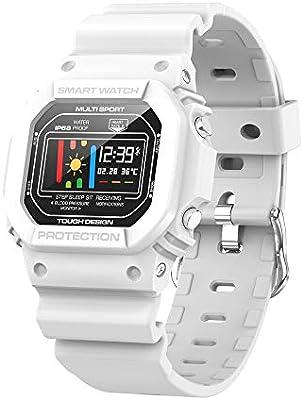 TNUGF Reloj Inteligente Smartwatch Relojes Pulsera de Actividad ...