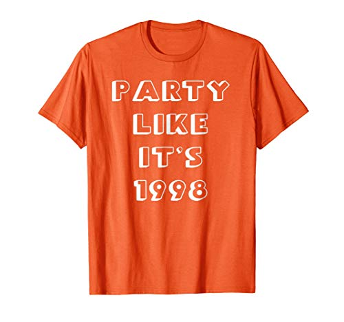 Tennessee Football Party Like It's 1998 Tshirt -