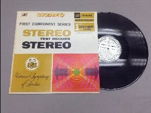 1957 Audio Fidelity Stereo Test Record Lp: First 1st Component Series: Virtuoso Symphony of London: FCS 50000: