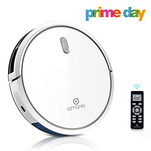 Robot Vacuum Cleaner, 1400Pa Ultra-Strong White Robot Vacuum, 4 Cleaning Modes, 2.7