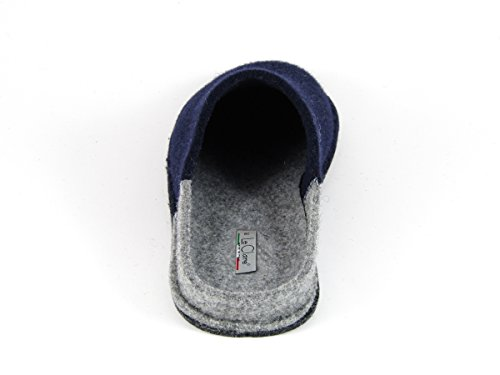 Pantofole da Donna Invernali Bicolore Blu