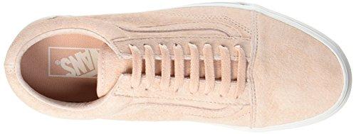 Vans Zapatillas Blancpig Suede Para de Spanish Villa Old Blanc de Mujer Skool Entrenamiento Rosa r6E67w