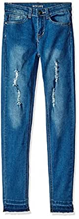 Kensie girls Denim Jean (More Styles Available), 1621 Medium Blue Denim, 7