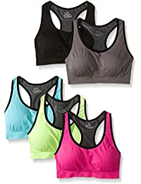 Women Racerback Sports Bras - High Impact Workout Gym...