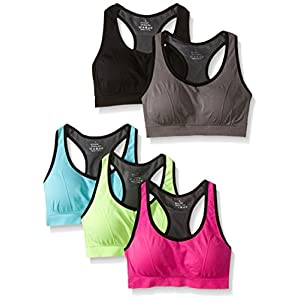 MIRITY Women Racerback Sports Bras – High Impact Workout Gym Activewear Bra