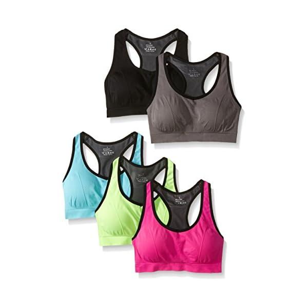 MIRITY Women Racerback Sports Bras – High Impact Workout Gym Activewear Bra