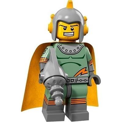 LEGO Collectible Minifigure Series 17 - Retro Space Hero (71018): Toys & Games