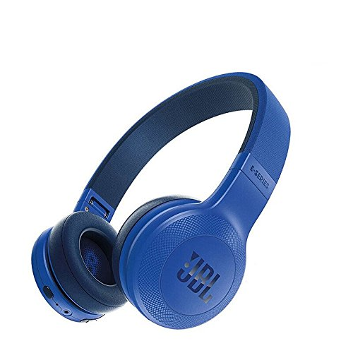 JBL Signature Sound Bluetooth Wireless On-Ear Headphones with One-Button Remote and Microphone, Blue (Renewed)