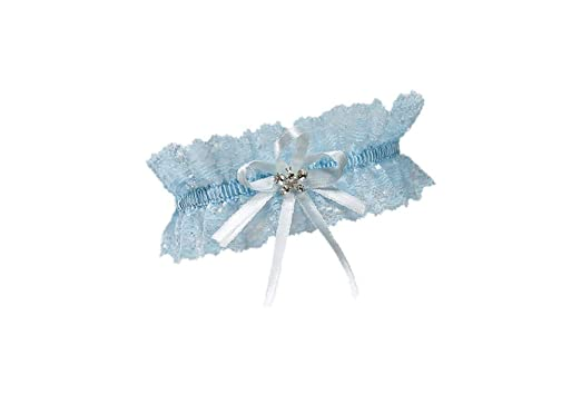 ea4a43ddb XL XXL Elastic Bridal Lace PLUS SIZE Garter - With SPARKLING Crystals in  BUTTERFLY Shape -