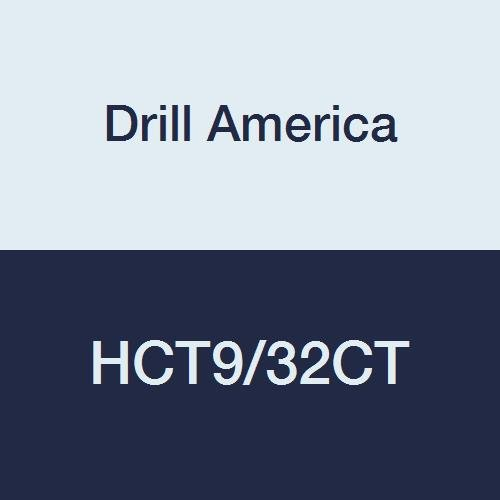 9//32 Drill America HCT9//32CT Carbide Tipped Reamer #40009