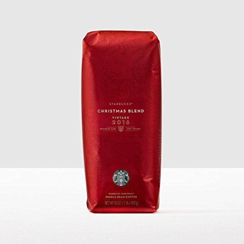 2016 Starbucks Christmas Blend Whole Bean Coffee - 1 pound bag