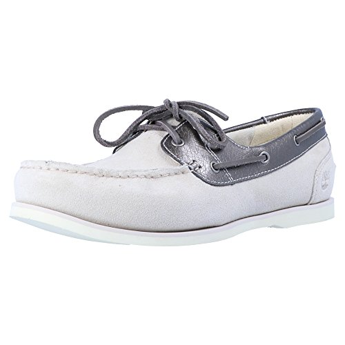 Timberland Classic Derbies Gris Unlined Boat Femme Boat 66qrfH