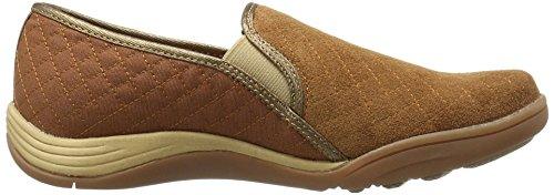 Sprinkhanen Dames Clara Slip-on Fashion Sneaker Toffee