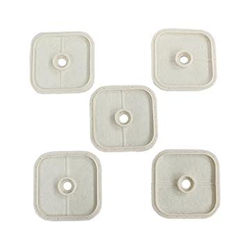 6 CONNECTEURS 5 RANGS en métal argenté perle,fimo,apprêt-co004
