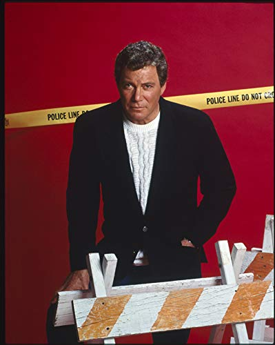 William Shatner Original Studio 5x4 Transparency Rescue 911 TV Series 1989 ()