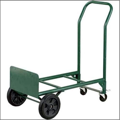 Adjustable Folding Convertible Multi-Purpose Dolly and Cart Utility Hand Truck with 400 LB Weight Capacity by Harper Trucks