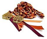 Divinity Braid Autumn Harvest Tree of Life Wedding Handfasting Cord #Autumn #Fall #Wedding #Handfasting #TreeOfLife