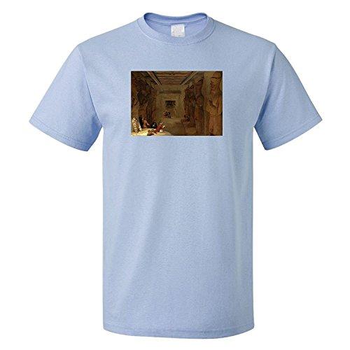 - Michael Trollpoe Great Temple Abu Simbel (David Roberts) Cotton Unisex T-Shirt Tee