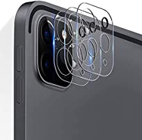 TERSELY Camera Lens Protector for iPad Pro 11 / iPad Pro 12.9 inch 2020 , [3 PACK] 9H Ultra-Thin Transparent Camera Lens...