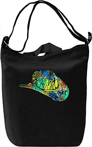 Cowboy Heat Borsa Giornaliera Canvas Canvas Day Bag| 100% Premium Cotton Canvas| DTG Printing|