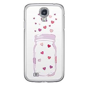 Loud Universe Samsung Galaxy S4 Love Valentine Printing Files A Valentine 160 Printed Transparent Edge Case - Multi Color