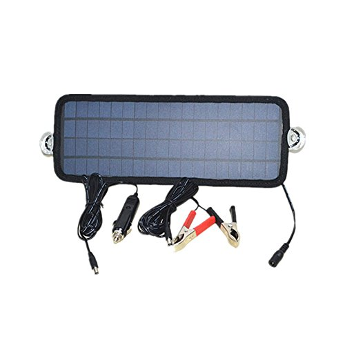 CUHAWUDBA Caliente 12V 4.5W Panel solar Modulo de cargador ...