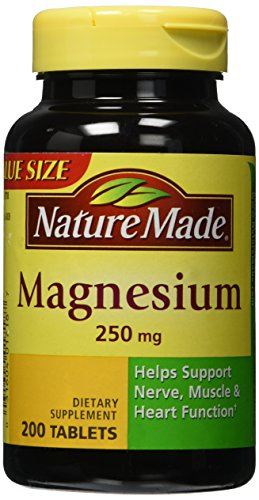 Nature Made Magnesium 250mg Tablets product image