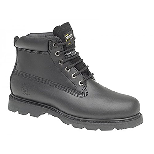 Grafters Non Saftey Padded Work Boot - M030B Black 1tZN94P