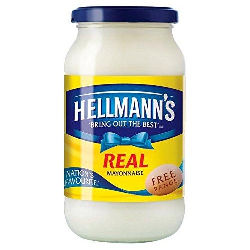 Hellmanns Real Mayonnaise - 400g by Hellmann's