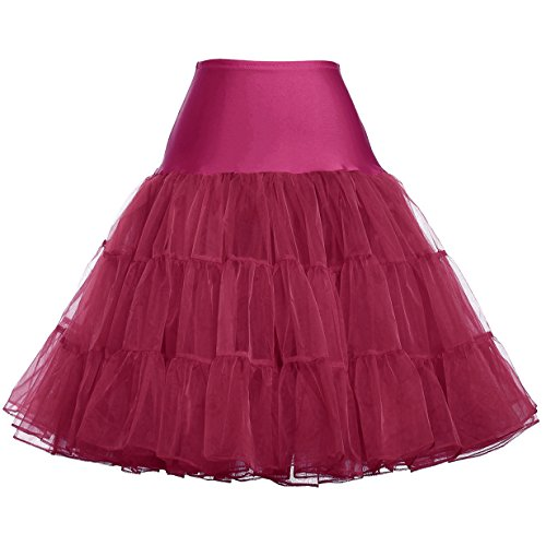 Lovely Hoopless Mesh Skirts Puffy Dress (2X, ()