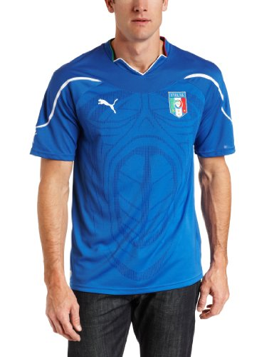 Italy Home Replica Jersey Shirt (Team Power Blue, (2006 Italy World Cup)