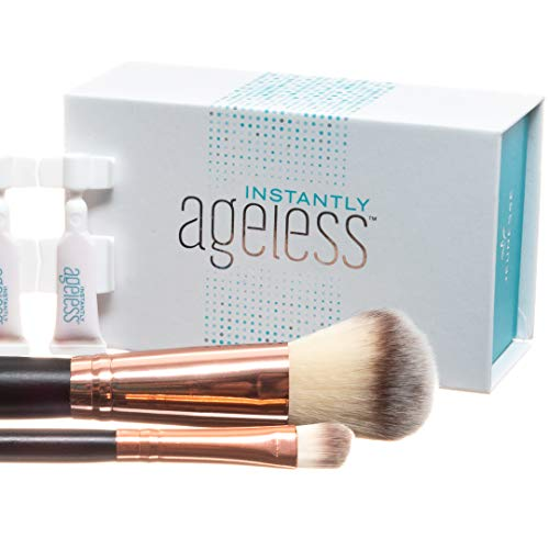 Jeunesse Instantly Ageless 25 Vials W/ 2 FREE Professional Makeup Brushes | Instantly Ageless 25 Vial Box Set with FREE Professional Brush Set by Instantly Ageless (Image #2)