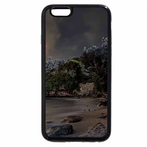 iPhone 6S / iPhone 6 Case (Black) Night at the bay