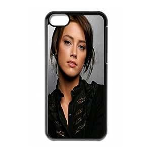 iPhone 5c Cell Phone Case Black Amber Heard 5 OJ605447