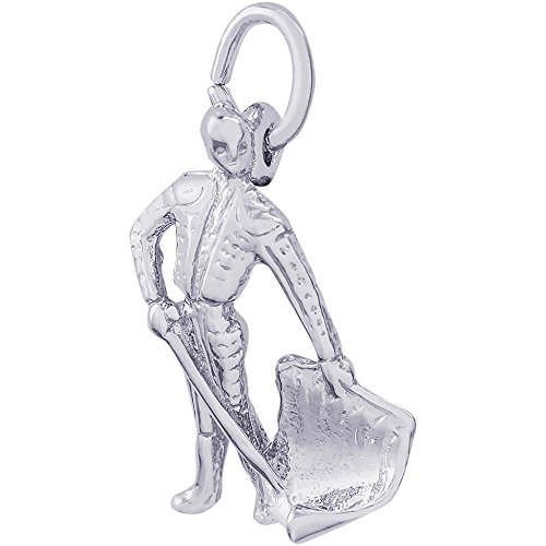 Torero Costume (Rembrandt Charms Sterling Silver Bull Fighter Charm (19 x 10 mm))