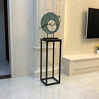 Pergolas Flower Stand Flower Stand Living Room Drop Subway Art Flower Stand Balcony Indoor Flower Pot Shelf high Flower Stand Decorative Frame Balcony Flower Rack (Color : Brown, Size : 222266cm): Garden & Outdoor