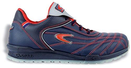 Cofra Plumb S1 P SRC Paire de Chaussures de sécurité Taille 40 Bleu