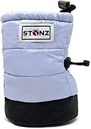 Stonz Winter Puffer Booties Baby/Infant/Toddler Boys and Girls - Winter Stay-On Snow Boots - Extra Warmth Over