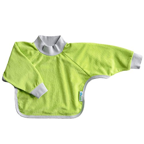 kiddologic-bibit-all-baby-and-toddler-long-sleeved-full-coverage-pullover-waterproof-terry-bib